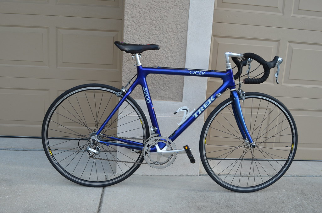 trek 5200 oclv carbon fiber road bike bicycle tampa bike trader