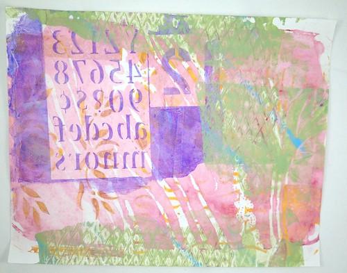 Gel Plate Prints