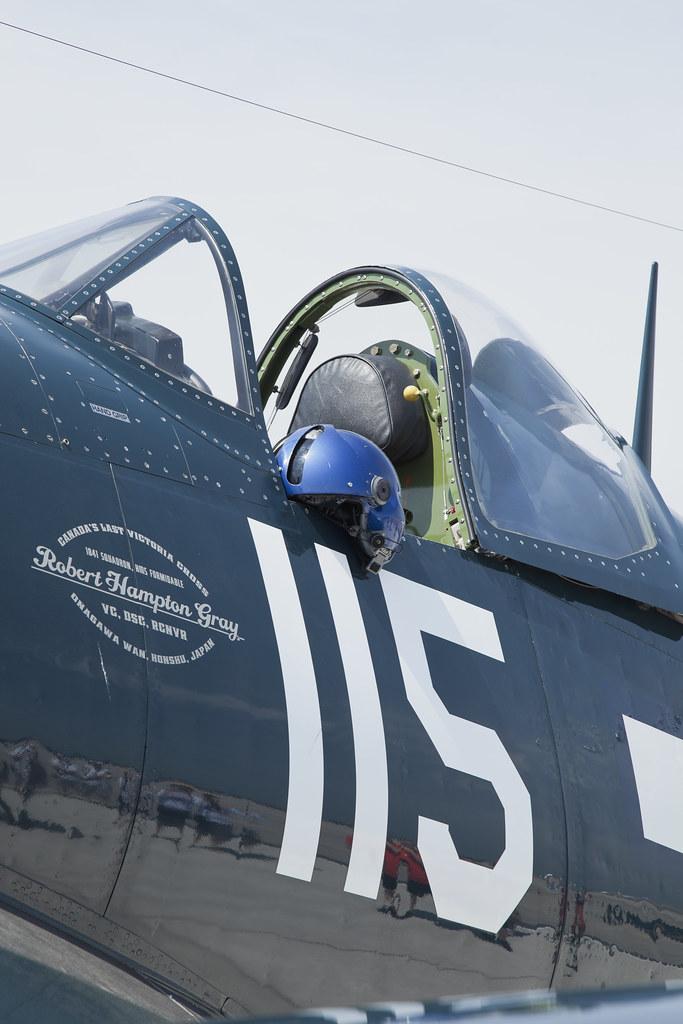 Hamilton Airshow Vought F4U Corsair