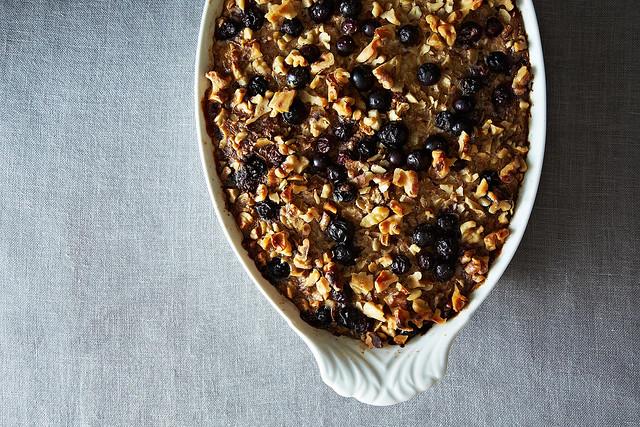 Heidi Swanson's Blueberry Baked Oatmeal