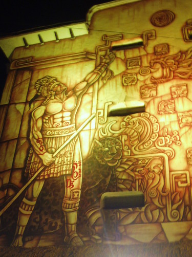 Mayan Inspired Mural, Cancun