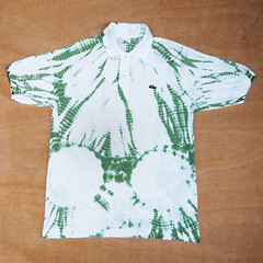 Do It Yourself Shibori Polo