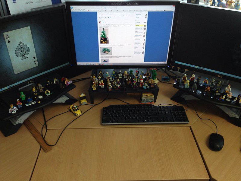 Lego on my desk