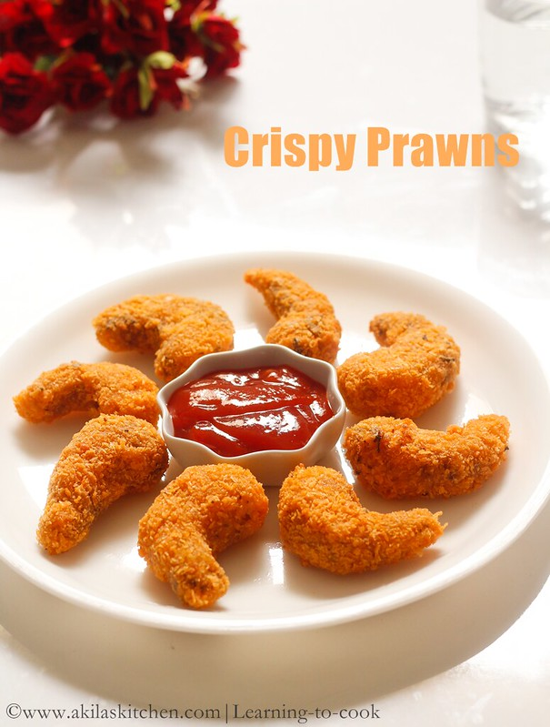 How to make crispy prawns step by step