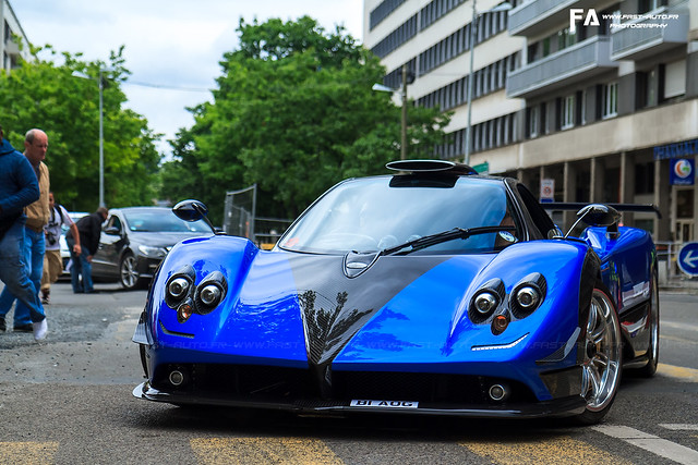 Pagani Zonda PS - 24 Hours of Le Mans 2013