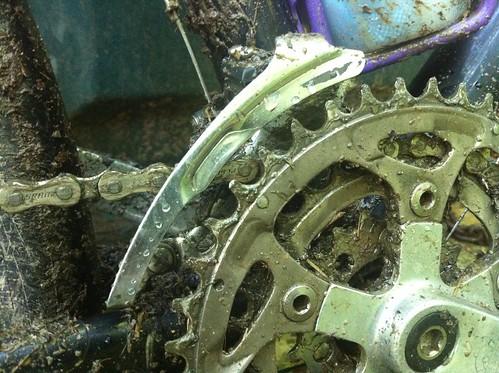 Muddy drivetrain