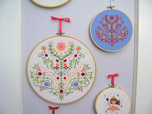 Tree of Life Embroideries
