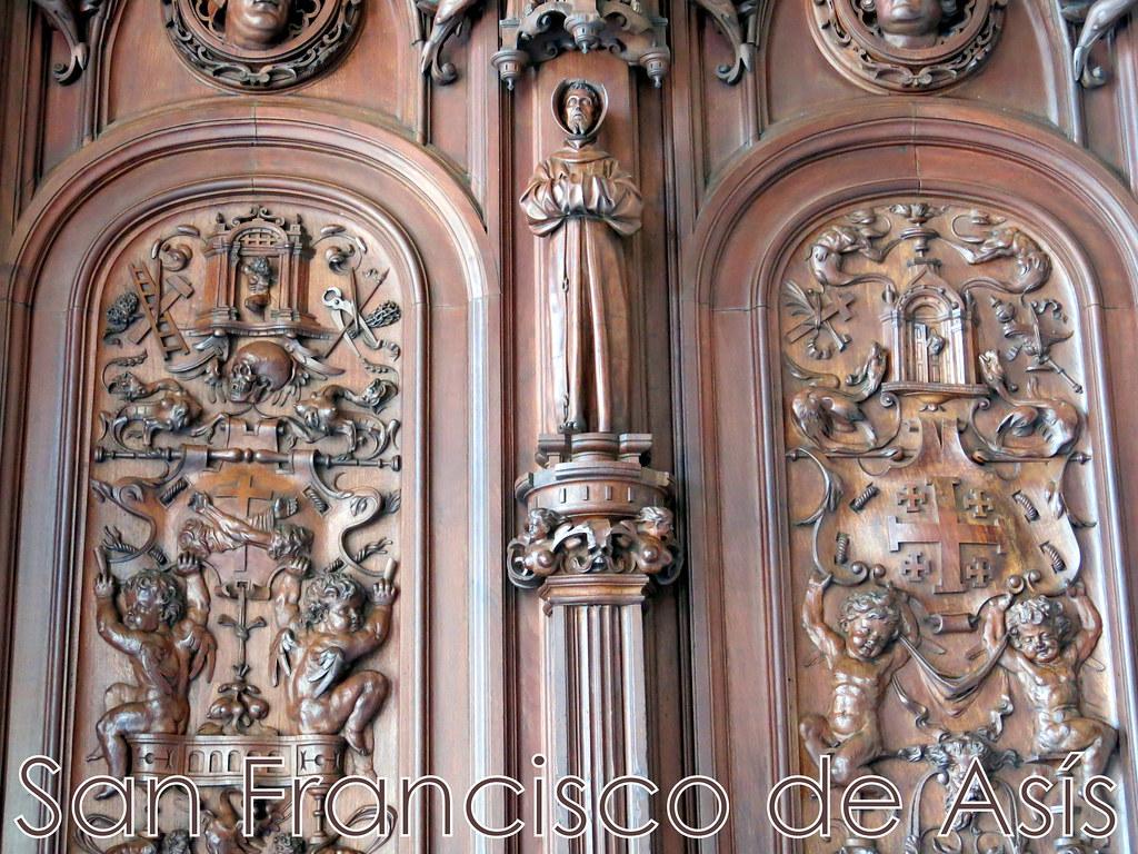 el tiempo por si mismo puertas de madera tallada