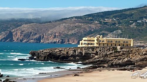 building colors cores doors houses landscape sea water windows view cascais portugal lisbon lisboa