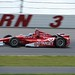 Scott Dixon in Turn 3 during the Pocono INDYCAR 400