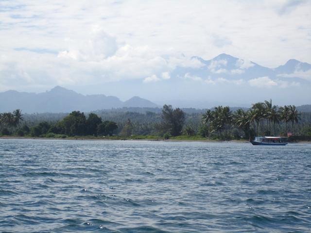 Горы Ломбока