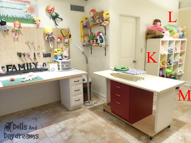 Sewing Room Make Over DIY Dolls And Daydreams 3B