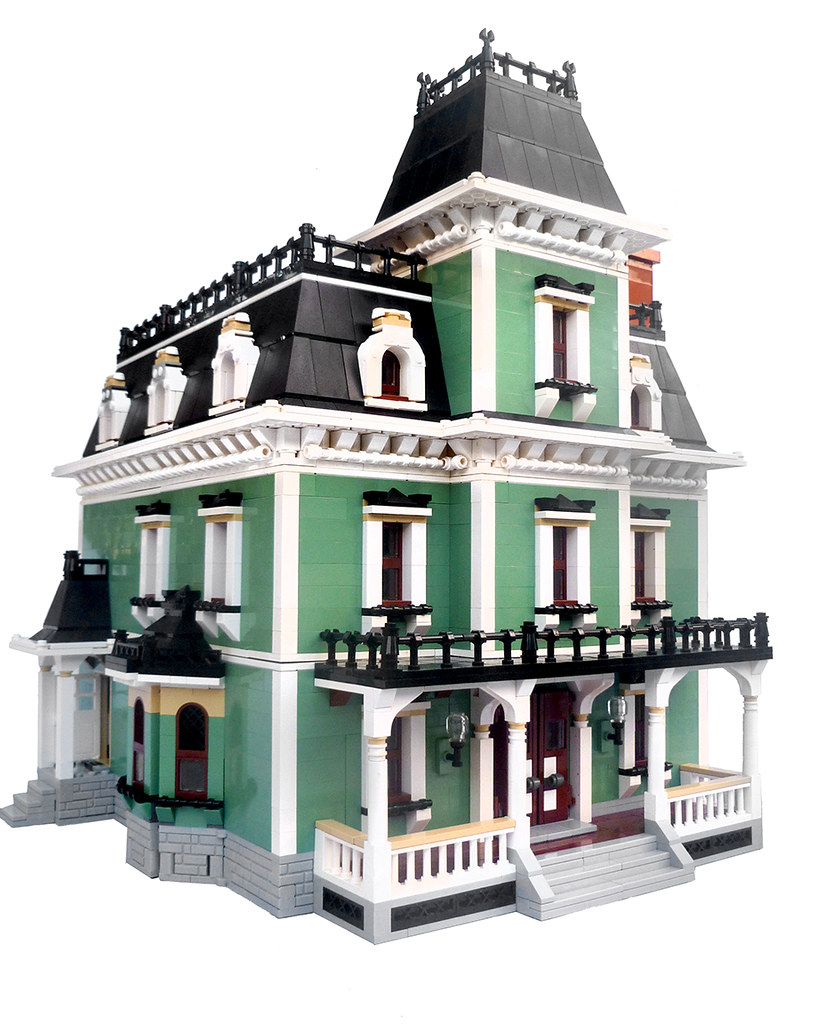 Victorian House WIP (Front Right View)