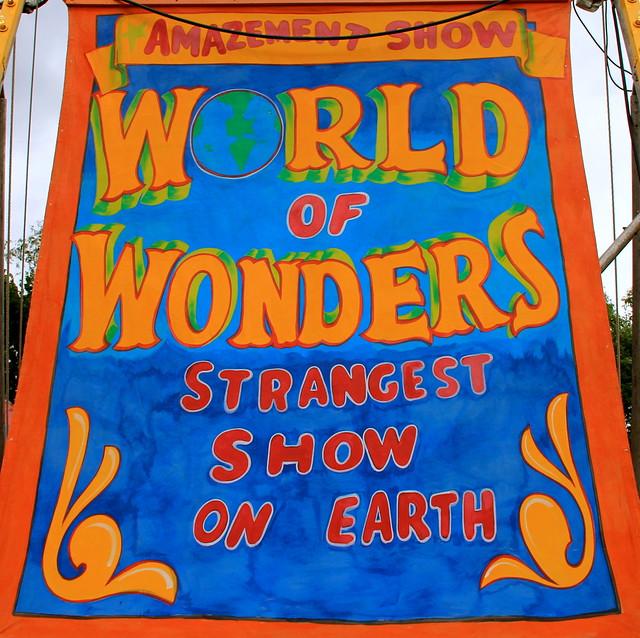 Amazement Show, World of Wonders, Strangest Show on Earth