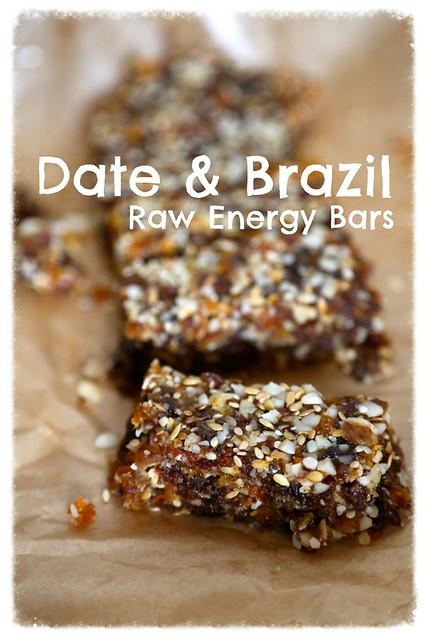 Date & Brazil Energy Bars