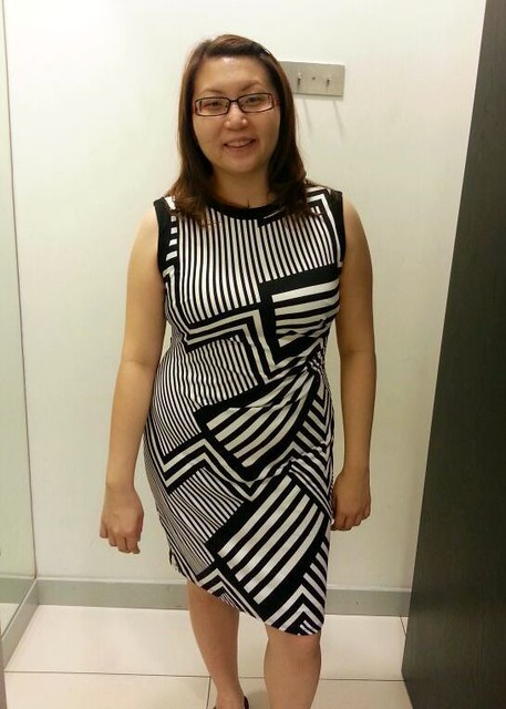 Redressing Suanie - black and white dress