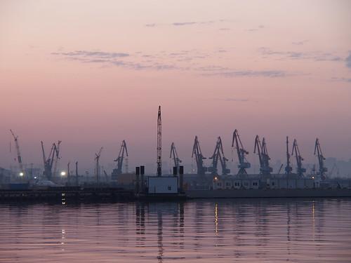 docks sunrise boulevard baku azerbaijan promenade baki aserbaidschan bulvar aserbajdsjan