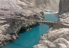 devil's bridge, fjord, reservoir, river, channel, wadi, cliff, waterway, infrastructure, bridge,