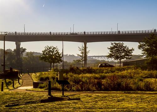 The Y-Bridge at Sunrise