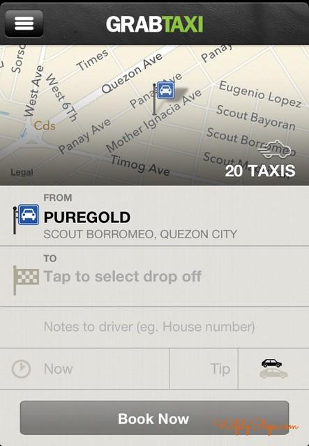 Grab Taxi 1