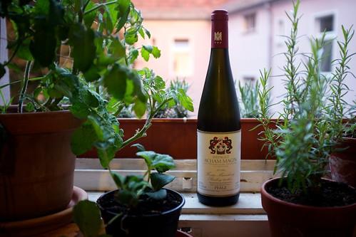 Lieblingswein, Forster Musenhang von Acham-Magin
