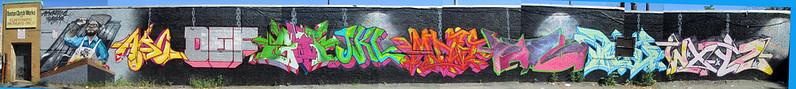 GRAFFNUTS alphabet slaughter production