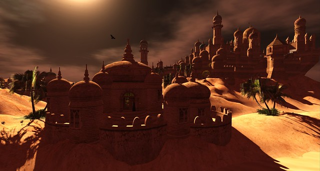 Exploring Second Life Meme - Kingdom of Sand