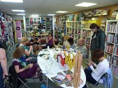 Knitting at I Knit London