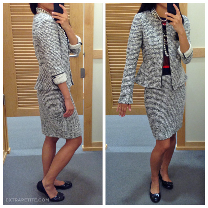 loft tweed skirt and jacket1
