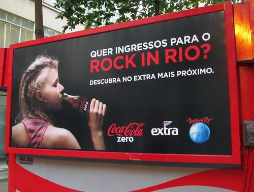 Rock in Rio free ticket promo Coca-Cola Rio de Janeiro by roitberg