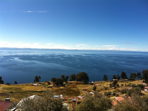 Postcard from Taquile Island, Lake Titicaca