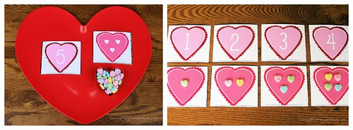 Valentine Cards and Counters Variation