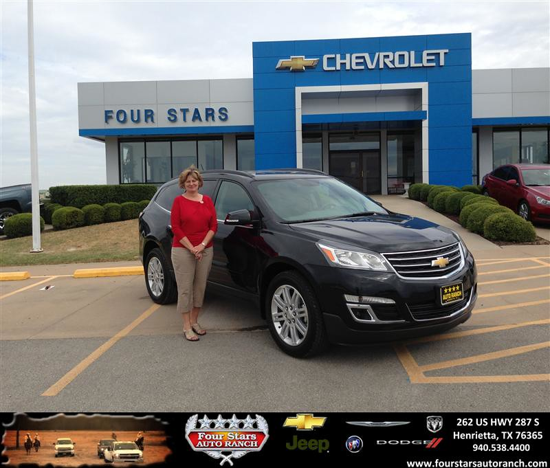 thank you to bob and deborah brown on your new 2014 chevrolet traverse from scott sanders and. Black Bedroom Furniture Sets. Home Design Ideas