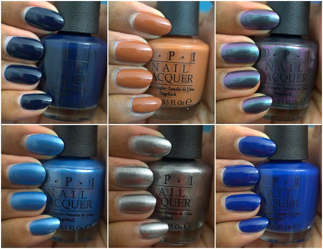 OPI San Francisco collection, part I