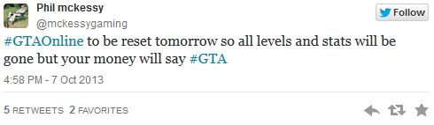 Сброс GTA Online