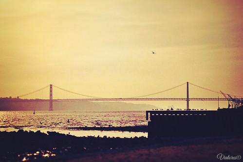Ponte 25 de Abril. Lisbon. Portugal
