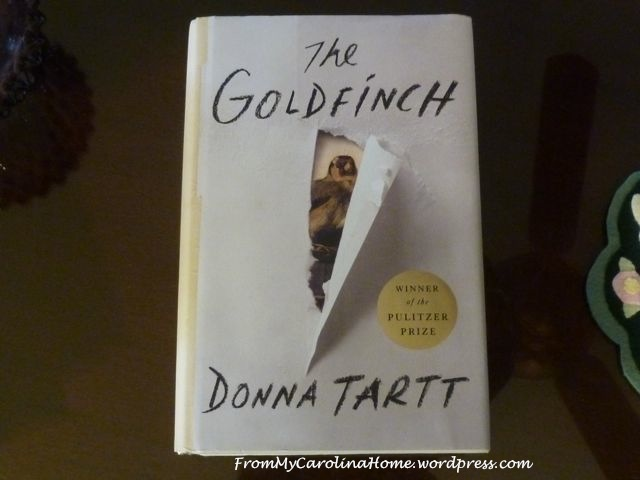Goldfinch by Donna Tartt -1