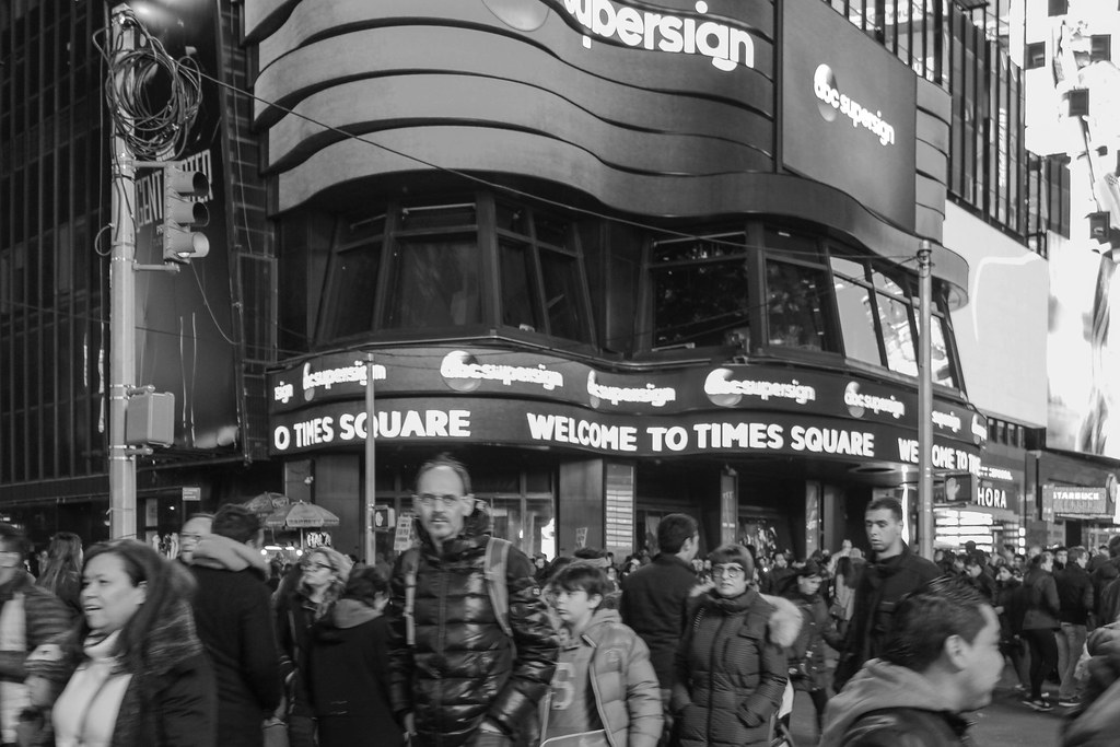 Welcome to Times Square