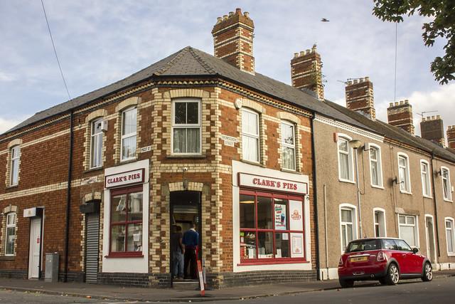 Clark's Pies Shop, Grangetown, Cardiff