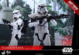 Hot Toys - MMS386 - 《星際大戰外傳:俠盜一號》1/6 比例 杰達巡邏風暴兵 Stormtrooper Jedha Patrol
