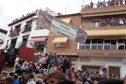 Encierro à La Peza - Granada - Andalousie -