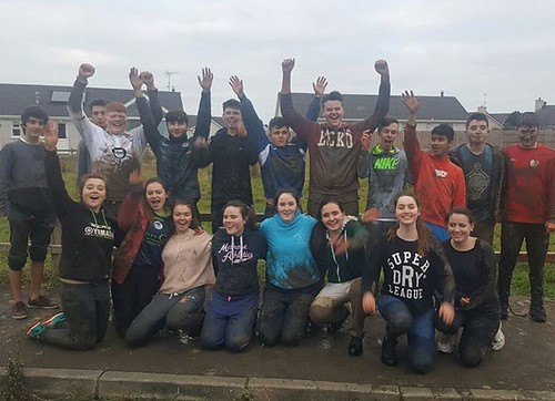 Thanks to the gang from Tarbert comp for stopping by yesterday ! #donegaladventurecentre #schooltours
