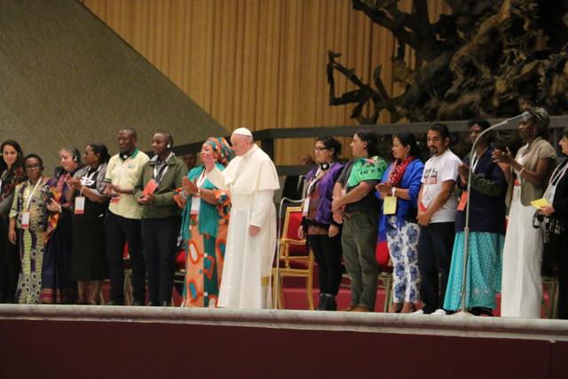 Encontros entre o Papa Francisco e movimentos populares tiveram início em 2013 - Créditos: Divulgação