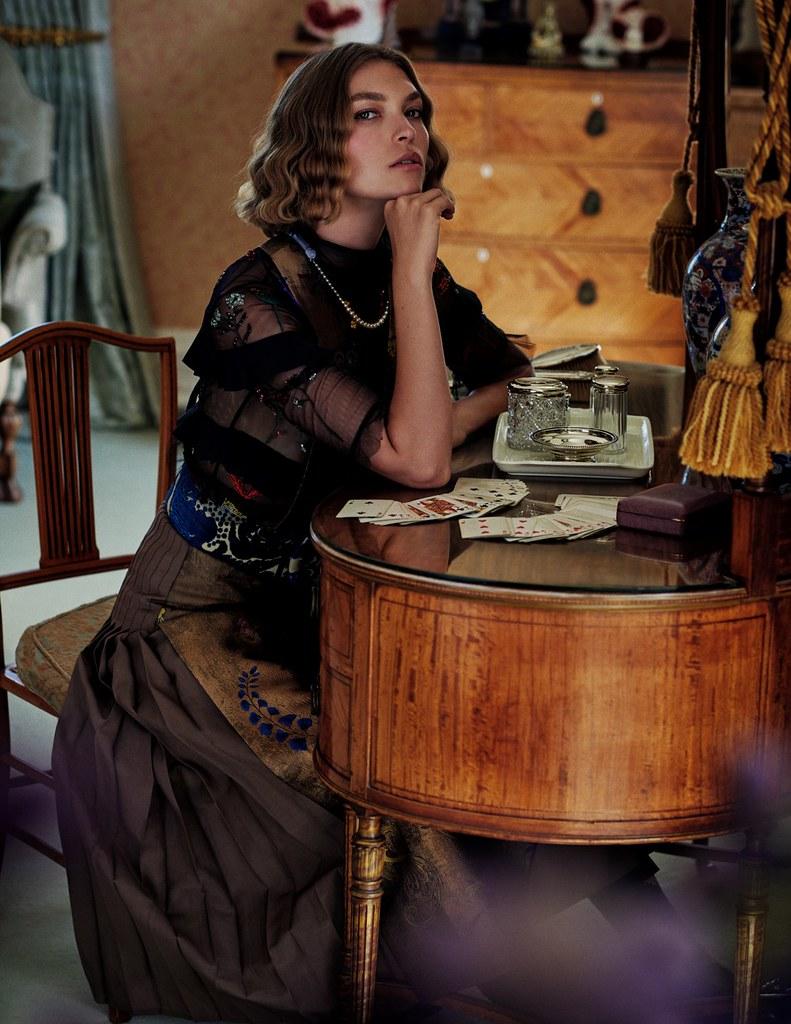 Аризона Мьюз — Фотосессия для «Elle» IT 2016 – 6