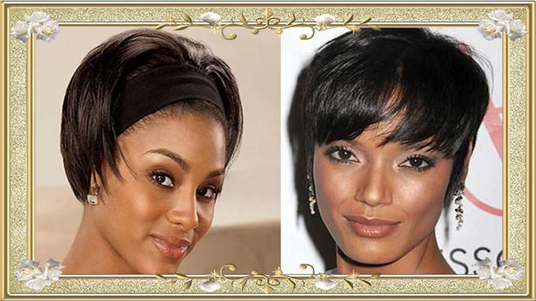 Short Straight Hairstyles For Black Women 2017 Short Strai