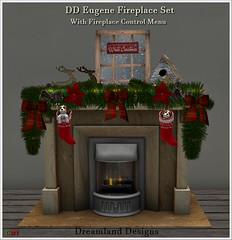 DD Eugene Fireplace Set Vendor
