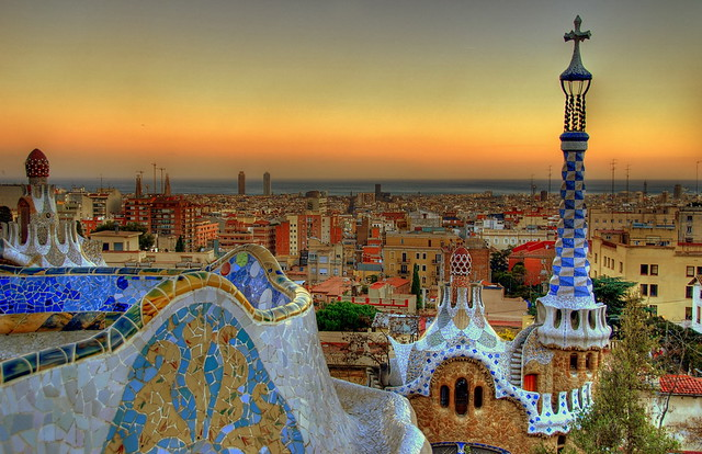 Hola Barcelona~巴塞隆納。往「桂爾公園 Parc Güell」郊遊去 (上) R1043009
