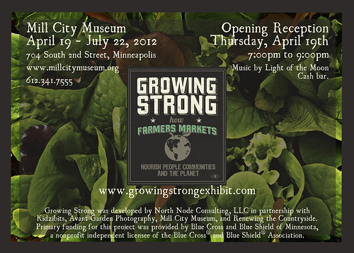 Growing Strong Exhibit at Mill City Museum