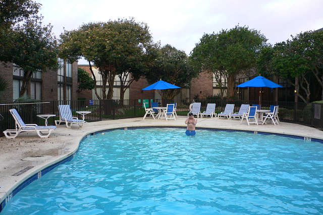 Pool At Park Inn Houston North Hotel Flickr Photo Sharing