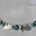 Sterling Silver Charm bracelet - Over 5 charms